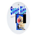 Sweet Ride Keepsake (Oval)
