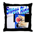 Sweet Ride Throw Pillow