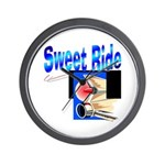 Sweet Ride Wall Clock