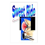 Sweet Ride Postcards (Package of 8)