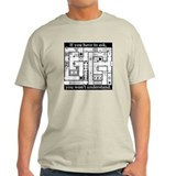Dungeon Crawl Map - T-Shirt
