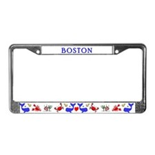 Cool Bostons License Plate Frame