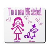 Kaelyn and Alyson Shirt Mousepad
