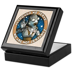 Robot Labor Union Keepsake Box