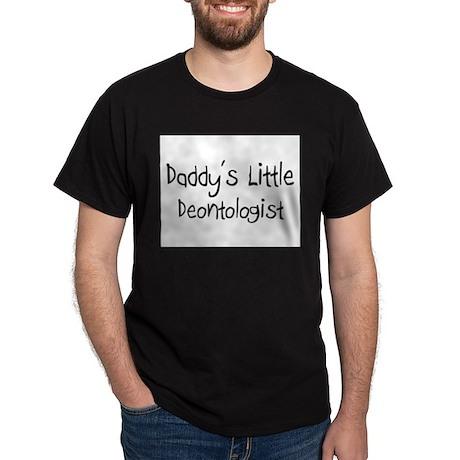 Daddy's Little Deontologist Dark T-Shirt