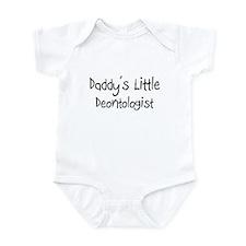 Daddy's Little Deontologist Infant Bodysuit