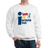 I Love My Autistic Son 1 Sweatshirt