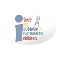 I Love My Autistic & NonAutistic Children 1 Sticke