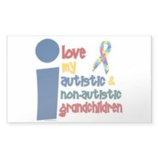 I Love My Autistic & NonAutistic Grandchildren 1 S