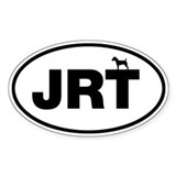 JRT (Jack Russell Terrier) Oval Decal