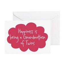Grandmother of Twins Greeting Cards (Pk of 10)