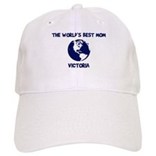 VICTORIA - Worlds Best Mom Baseball Cap