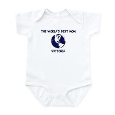VICTORIA - Worlds Best Mom Infant Bodysuit