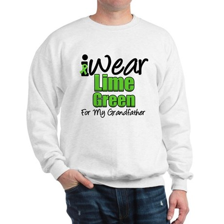 Lymphoma Grandfather Sweatshirt