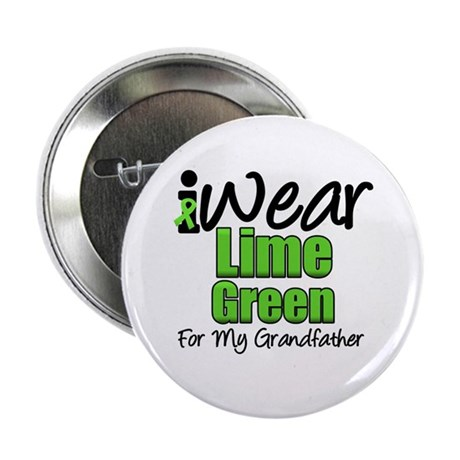 "Lymphoma Grandfather 2.25"" Button"
