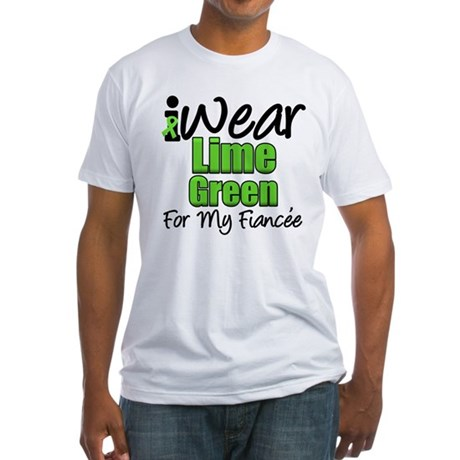 Lymphoma Fiancee Fitted T-Shirt