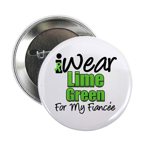 "Lymphoma Fiancee 2.25"" Button (10 pack)"