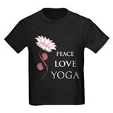 Peace Love Yoga T