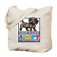 Dachshund Rescue Tote Bag