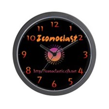 Cute Iconoclast Wall Clock