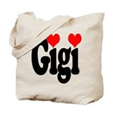 I love Gigi Tote Bag