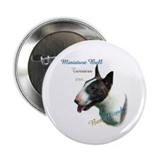 "Mini Bull Best Friend 1 2.25"" Button (100 pack)"