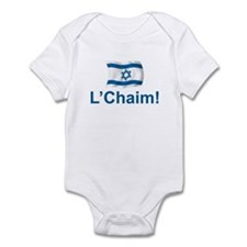 Israel L'Chaim Infant Bodysuit
