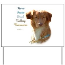 Toller Best Friend 1 Yard Sign