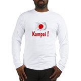 Japan Kampai Long Sleeve T-Shirt