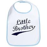 Little Brother (Blue Text) Bib
