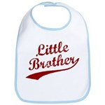 Little Brother (Red Text) Bib