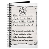 Wiccan Reade Journal