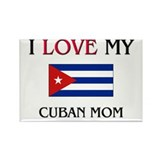 I Love My Cuban Mom Rectangle Magnet (10 pack)