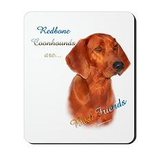 Coonhound Best Friend 1 Mousepad