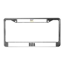 Gun Owner Or Victim License Plate Frame