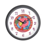 Groovy Girly Clock