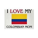 I Love My Colombian Mom Rectangle Magnet (10 pack)