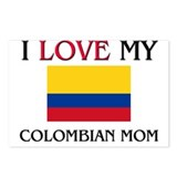 I Love My Colombian Mom Postcards (Package of 8)