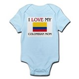 I Love My Colombian Mom Infant Bodysuit