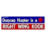 Duncan Hunter Bumper Sticker