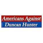 Americans Against Duncan Hunter sticker