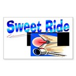 Sweet Ride Rectangle Sticker