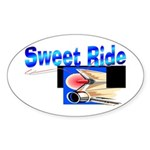 Sweet Ride Oval Sticker