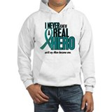 Never Knew A Hero 2 Teal (Mom) Jumper Hoody