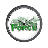 Feel The Force Wall Clock
