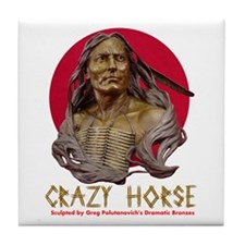 Crazy Horse Tile Coaster