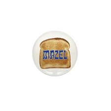 Mazel Toast Mini Button (100 pack)