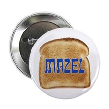"Mazel Toast 2.25"" Button (10 pack)"