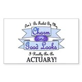 Actuary Really Rectangle Decal