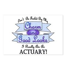 Actuary Really Postcards (Package of 8)